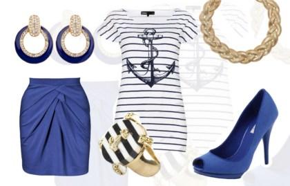 Styl Marynarski Makija I Stylizacja Z We