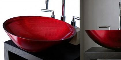 Umywalka dekoracyjna i funkcjonalna w jednym