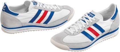 Kolekcja Adidas Originals blue label A.039 Buty i torebki