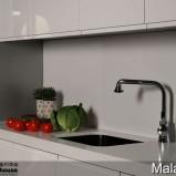 kuchnia - zabudowany zlewozmywak