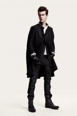 czarny p�aszcz H&M elegancki - kolekcja jesienno-zimowa