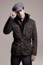 czarna kurtka H&M - kolekcja zimowa