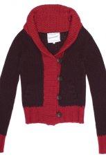 bordowy sweter C&A - jesie�-zima 2010/2011