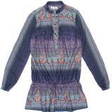 niebieska tunika C&A - trendy na jesie�-zim�