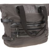 czarna torebka Big Star z zamkami - jesie�-zima 2010/2011