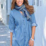 niebieska koszula Cellbes - jesie�/zima 2010/2011