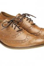 br�zowe pantofle F&F - moda jesie�/zima 2010