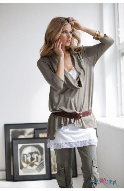 szara bluzka Halens - kolekcja jesienno-zimowa