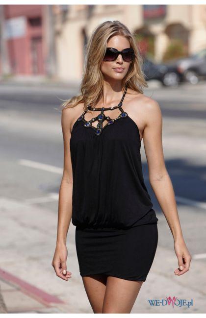 czarna sukienka Halens - kolekcja jesienno-zimowa