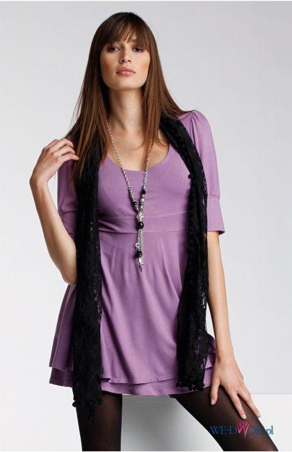 fioletowa tunika Halens - kolekcja jesienno-zimowa