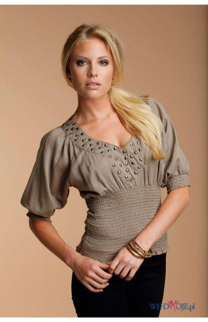 beżowa bluzka Halens - kolekcja jesienno-zimowa