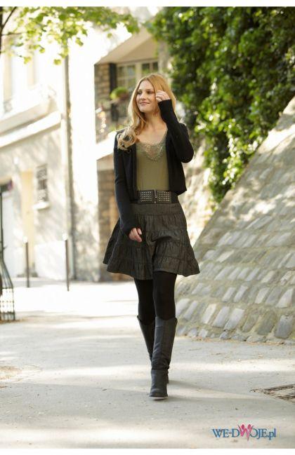 brązowa spódnica Halens - kolekcja jesienno-zimowa