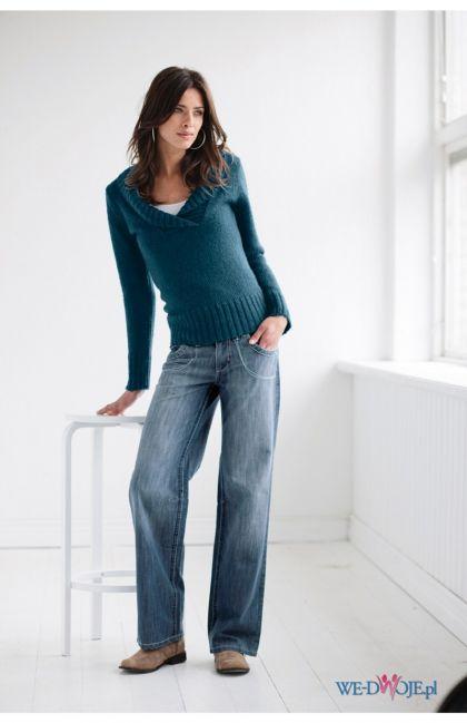 granatowy sweter Halens - kolekcja jesienno-zimowa