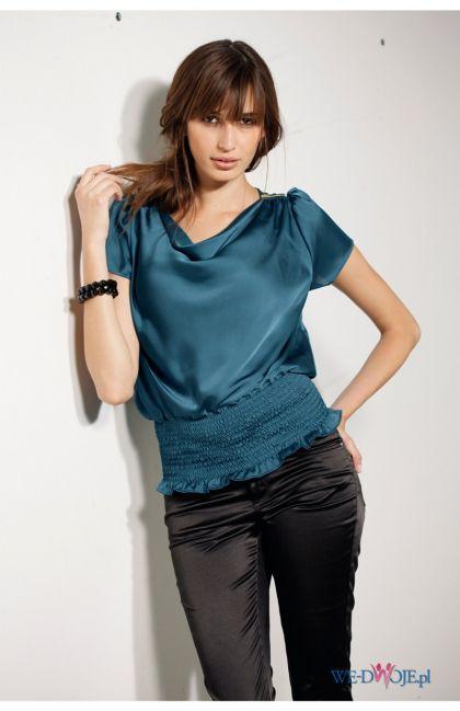 turkusowa bluzka Halens - kolekcja jesienno-zimowa