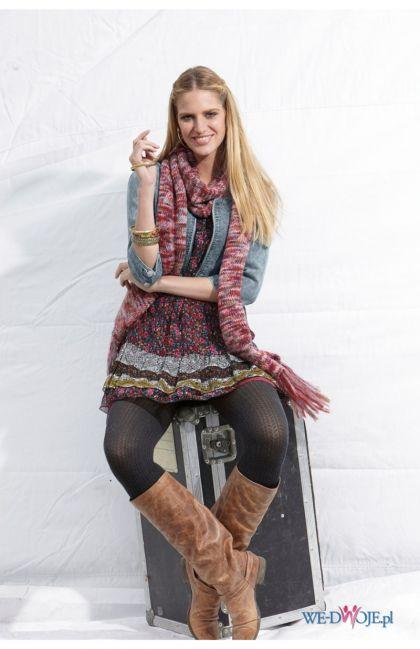 bordowa bluzka Halens długi - kolekcja jesienno-zimowa