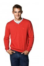 czerwony sweter Cubus - jesie�/zima 2010/2011