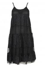 czarna sukienka Cubus z koronk� - jesie�-zima 2010/2011
