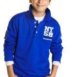 niebieski t-shirt Cubus - jesie�/zima 2010/2011
