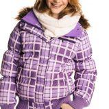 fioletowa kurtka Cubus w kratk� - jesie�/zima 2010/2011