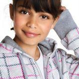 szara bluza Cubus w kratk� - jesie�/zima 2010/2011