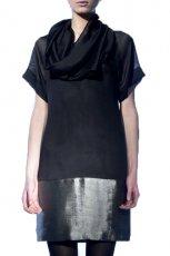 czarna sukienka Langner - jesie�/zima 2010/2011