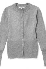 szary sweter Reserved rozpinany - jesie�/zima 2010/2011