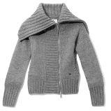 popielaty sweter Reserved rozpinany - jesie�/zima 2010/2011