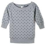 popielaty sweter Reserved w groszki - jesie�/zima 2010/2011