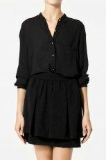 czarna bluzka ZARA - jesie�/zima 2010/2011