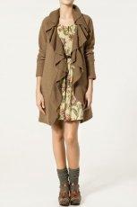 br�zowy p�aszczyk ZARA - kolekcja jesienno-zimowa