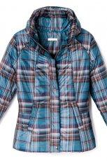 niebieska kurtka Reserved w kratk� - jesie�-zima 2010/2011