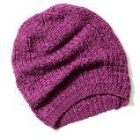 fioletowa czapka Reserved - jesie�-zima 2010/2011