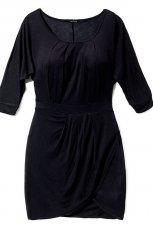czarna sukienka Reserved - jesie�/zima 2010/2011