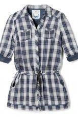 sukienka Reserved w kratk� - jesie�/zima 2010/2011