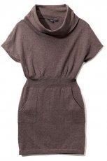 br�zowa sukienka Reserved - jesie�/zima 2010/2011