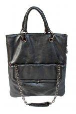 czarna torba Stefanel - jesie�-zima 2010/2011