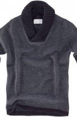 grafitowy sweter Pull and Bear - jesie�-zima 2010/2011