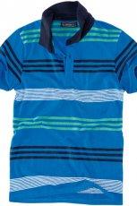 niebieska koszulka Pull and Bear w paski - jesie�/zima 2010/2011