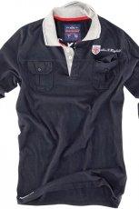 grafitowa koszula Pull and Bear z nadrukiem - jesie�/zima 2010/2011