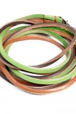 kolorowa bransoletka H&M z rzemyka - jesie�-zima 2010/2011
