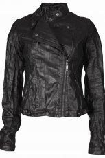 czarna kurtka Top Secret - moda jesie�/zima 2010