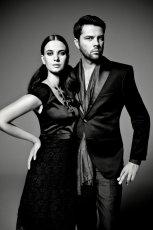 czarna sukienka s.Oliver - kolekcja jesienno-zimowa