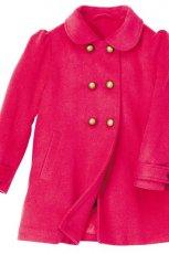 czerwony p�aszcz H&M - trendy na jesie�-zim�