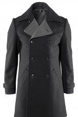 czarny p�aszcz H&M - moda jesie�/zima 2010