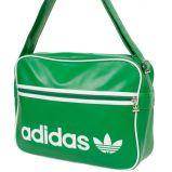zielona torba Adidas ze sk�ry - jesie�/zima 2010/2011