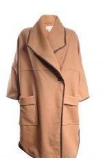 br�zowy p�aszcz H&M - jesie�-zima 2010/2011