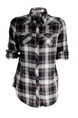 koszula H&M w kratk� - trendy na jesie�-zim�