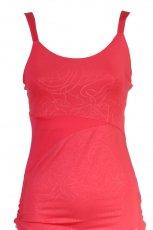 czerwony top Reebok - moda jesienna