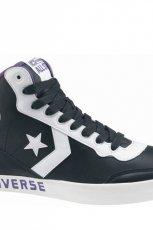 czarne trampki Converse we wzory sznurowane - jesie�-zima 2010/2011