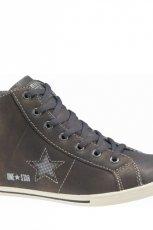 khaki trampki Converse - z kolekcji jesie�-zima